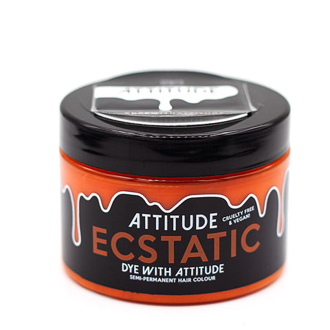Attitude Hair Dye Semi permanent Hair Dye Ecstatic Orange