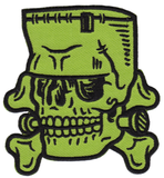 Dumb Junk Monster Skull Patch