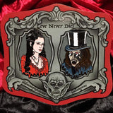 Haunted Graves Love Never Dies Dracula Enamel Pin Set