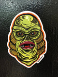 Haunted Graves Creature From The Black Lagoon Sticker