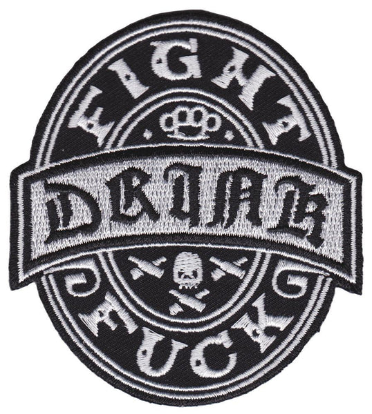 Kustom Kreeps Drink Fight F*Ck Patch