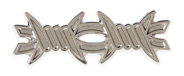 Kustom Kreeps Barbed Wire Enamel Pin