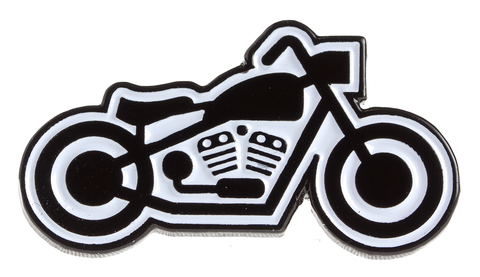 Kustom Kreeps Bike Enamel Pin