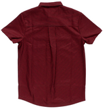 Kustom Kreeps Check Button Down Oxblood