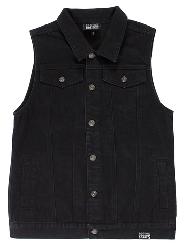 Kustom Kreeps Denim Vest