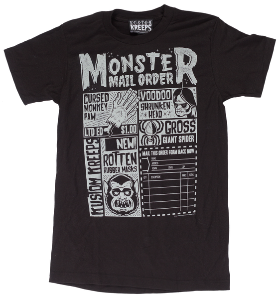 Kustom Kreeps Monster Mailorder Guys T-Shirt