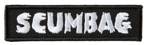 Kustom Kreeps Scumbag Name Patch