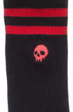 Kustom Kreeps Skull Embroidered Socks
