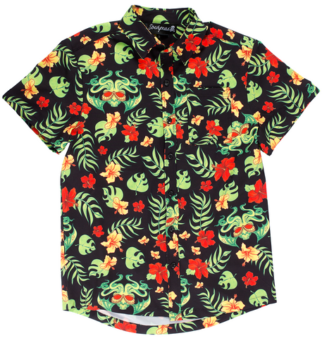 Sourpuss Tropicthulu Guys Button Down