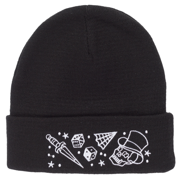 Kustom Kreeps Tattoo Knit Hat