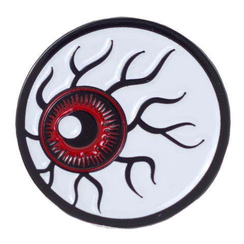 Kustom Kreeps Eyeball Enamel Pin
