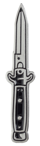 Kustom Kreeps Switchblade Enamel Pin