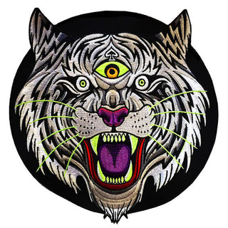 Thrillhaus Electric Tiger Backpatch