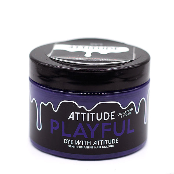 Attitude Hair Dye Semi permanent Hair Dye Playful Purple