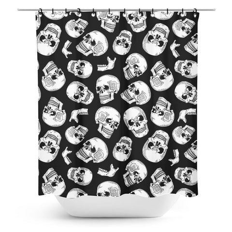 Sourpuss Anatomical Shower Curtain