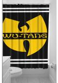 Sourpuss Wu Tang Shower Curtain