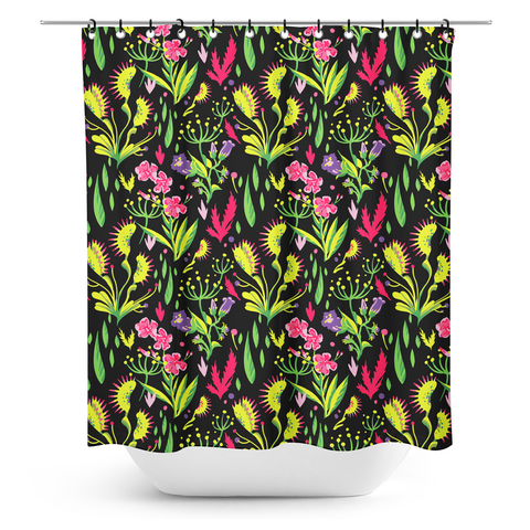 Sourpuss Deadly Beauties Shower Curtain