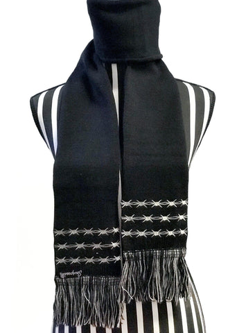 Sourpuss Barbed Wire Knit Scarf