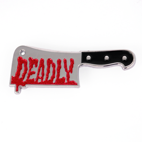 Sourpuss Deadly Cleaver Enamel Pin