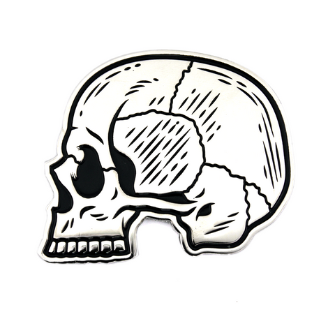 Sourpuss Skull Profile Enamel Pin