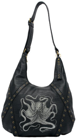 Sourpuss Octopus Hobo Purse