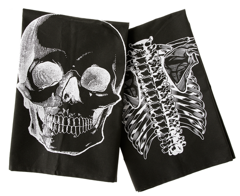 Sourpuss Anatomical Dish Towel Set