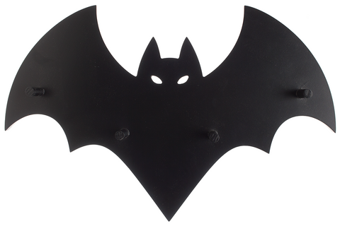 Sourpuss Bat Wall Hook Rack