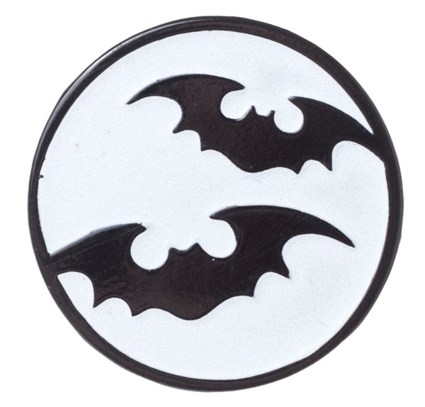 Sourpuss Bat Moon Enamel Pin