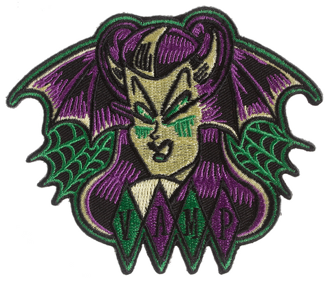 Sourpuss Bat Vamp Patch