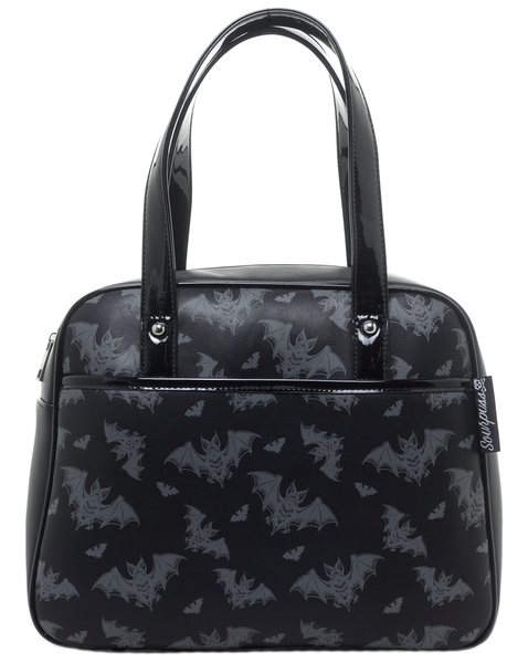 Sourpuss Batt Attack Bowler Purse