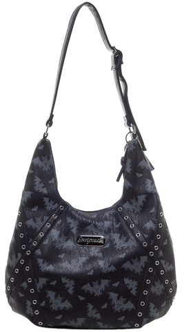 Sourpuss Batt Attack Hobo Purse