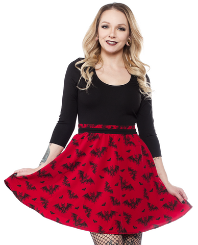 Sourpuss Batt Attack Scoop Dress