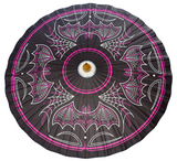 Sourpuss Batty Pinstripe Parasol