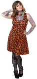Sourpuss Batty Pumpkins Skater Dress