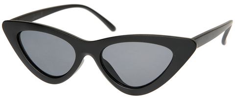 Sourpuss Cat Eye Sunglasses Matte Black