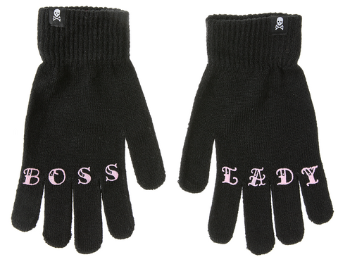 Sourpuss Boss Lady Knit Gloves