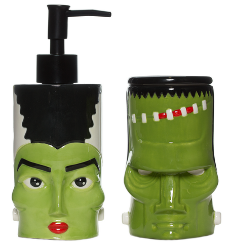Sourpuss Monster & Bride Bathroom Set