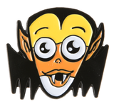 Sourpuss Candy Corn Vampire Enamel Pin