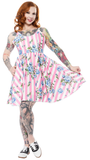 Sourpuss Carousel Roses Sweets Dress