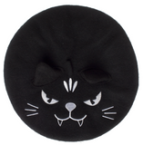 Sourpuss Cat Beret