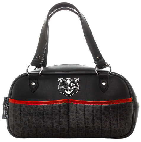 Sourpuss Jinx Tessa Purse Black / Red