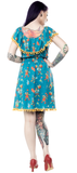 Sourpuss Clowning Around Fiesta Dress