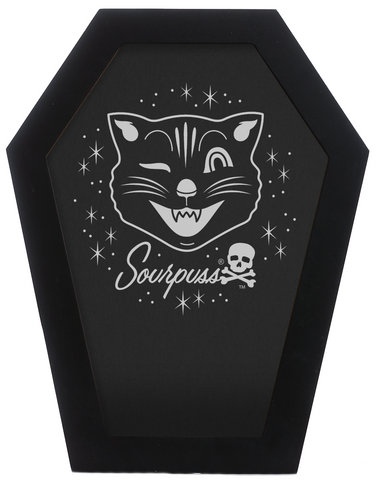 Sourpuss Coffin Frame Black