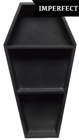 Sourpuss Scratch & Dent Coffin Shelf Black