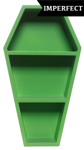 Sourpuss Scratch & Dent Coffin Shelf Green