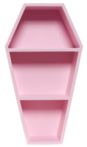 Sourpuss Coffin Shelf Pink