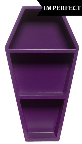 Sourpuss Scratch & Dent Coffin Shelf Purple