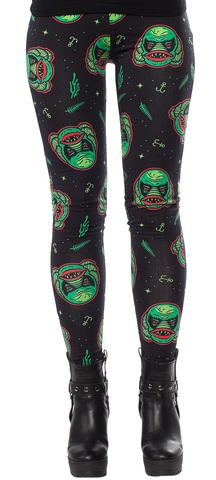 Sourpuss Creature Leggings