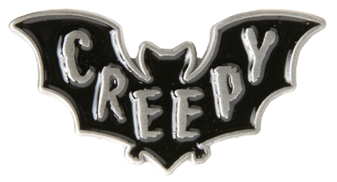 Sourpuss Creepy Enamel Pin