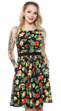 Sourpuss Tropicthulhu Shift Dress